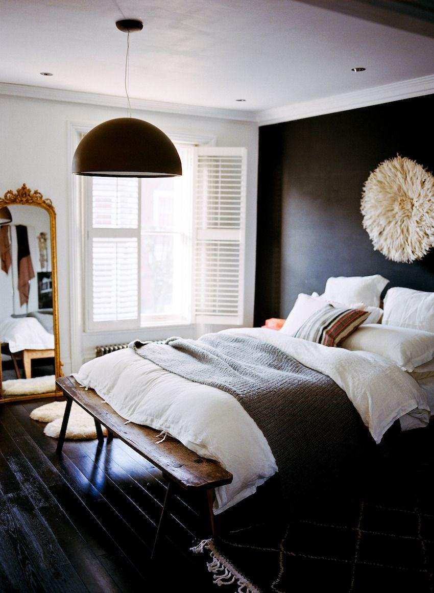 Home in Notting Hill | photos by Kjrsten Madsen | Home | Mur noir ...