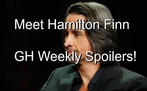 """""""General Hospital"""" (GH) spoilers for next week's episodes from of Monday March 21 to Friday March 25 show us Michael Easton's new character, Hamilton Finn..."""