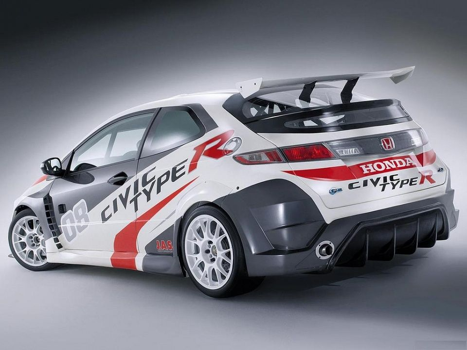 Honda Civic Type R Race Car Viii 2008 Honda Civic Type R Honda Civic Honda