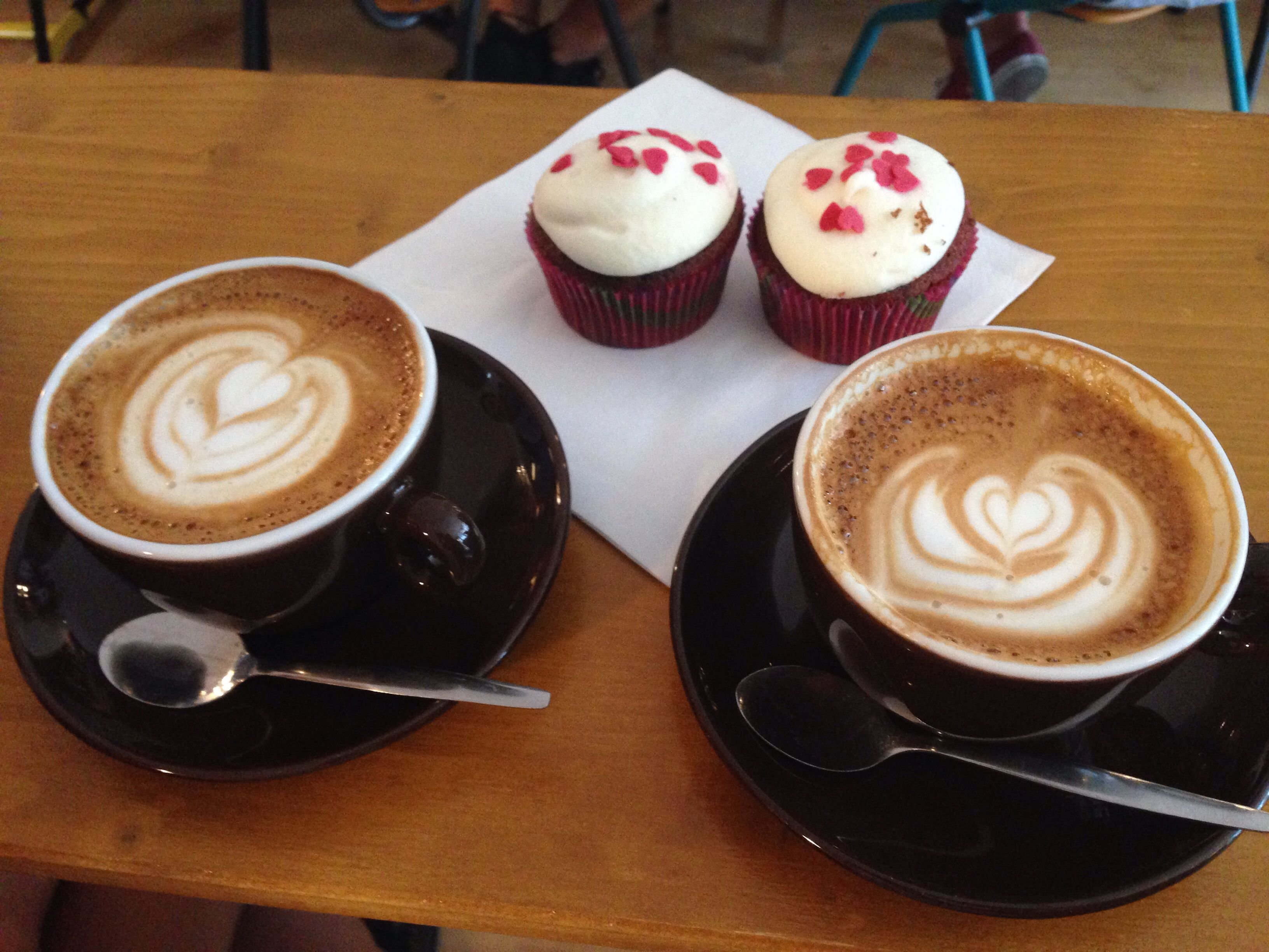 Coffee at Sweet cup cafe Amsterdam