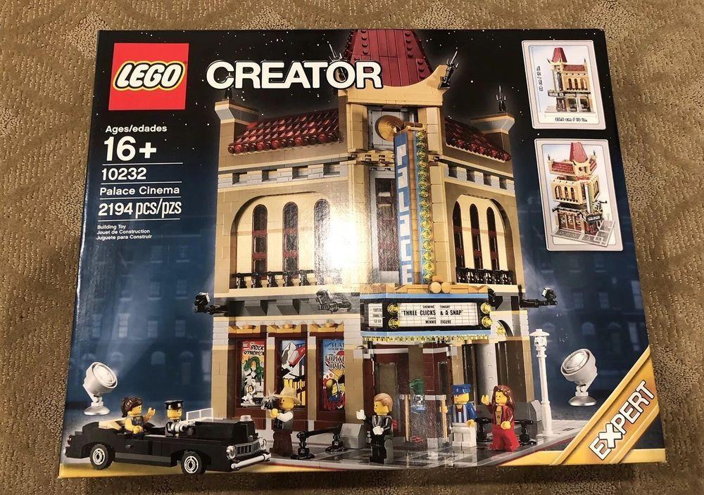 LEGO 10232 Creator Palace Cinema Modular Buildings New in Sealed Box