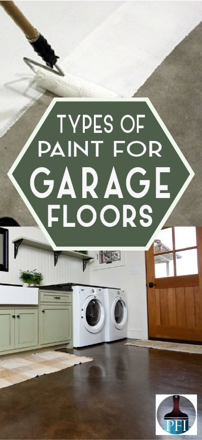 Types of Paint to Use on Your Garage Floor Oil, Cars and Basements