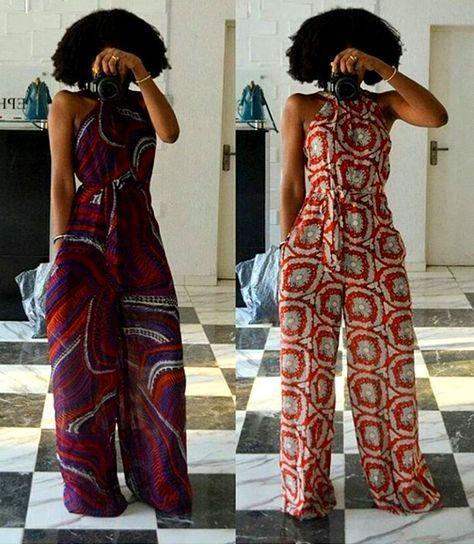 la combinaison pantalon large et combinaisons wax mode africaine pinterest combinaison. Black Bedroom Furniture Sets. Home Design Ideas