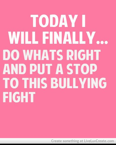 Cyber Bullying Quotes: Bullying Inspirational Quotes - Google Search