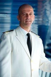 Captain Giuseppe Maresca: Started his career with MSC Cargo