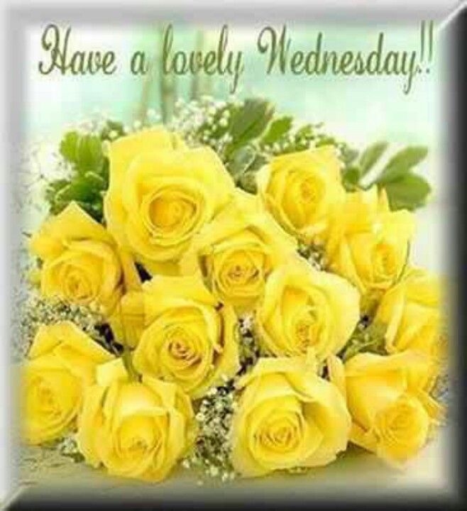 Image result for Happy Wednesday with flowers in May