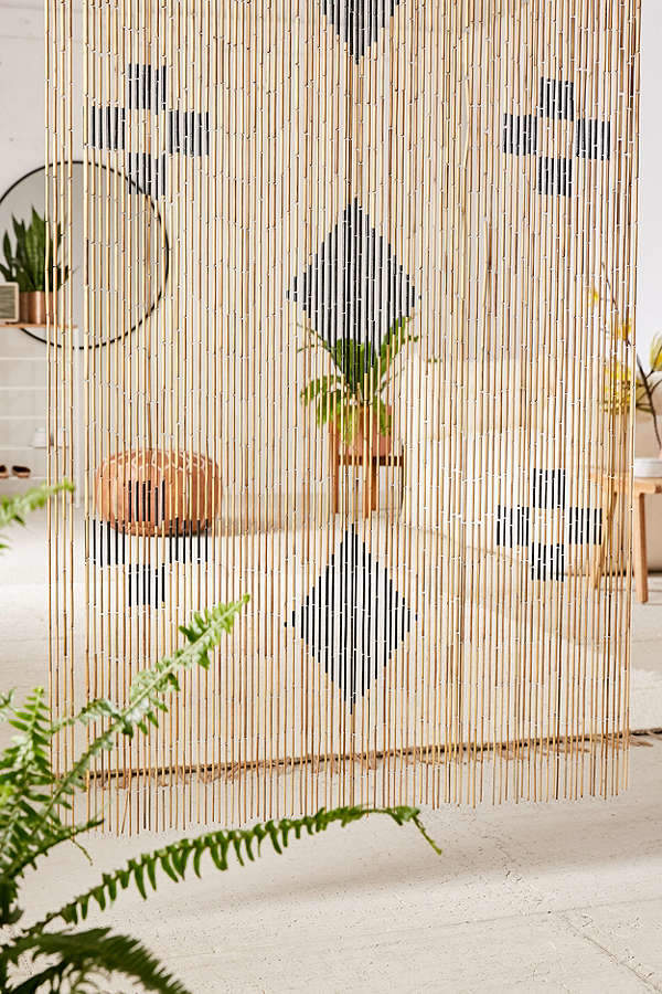 Bamboo Beaded Curtains Design