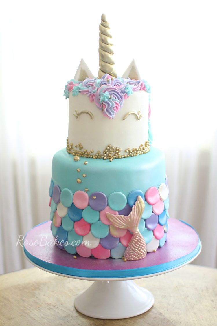 13 Mermaid Cakes Amp Party Ideas Mermaid Birthday Cakes
