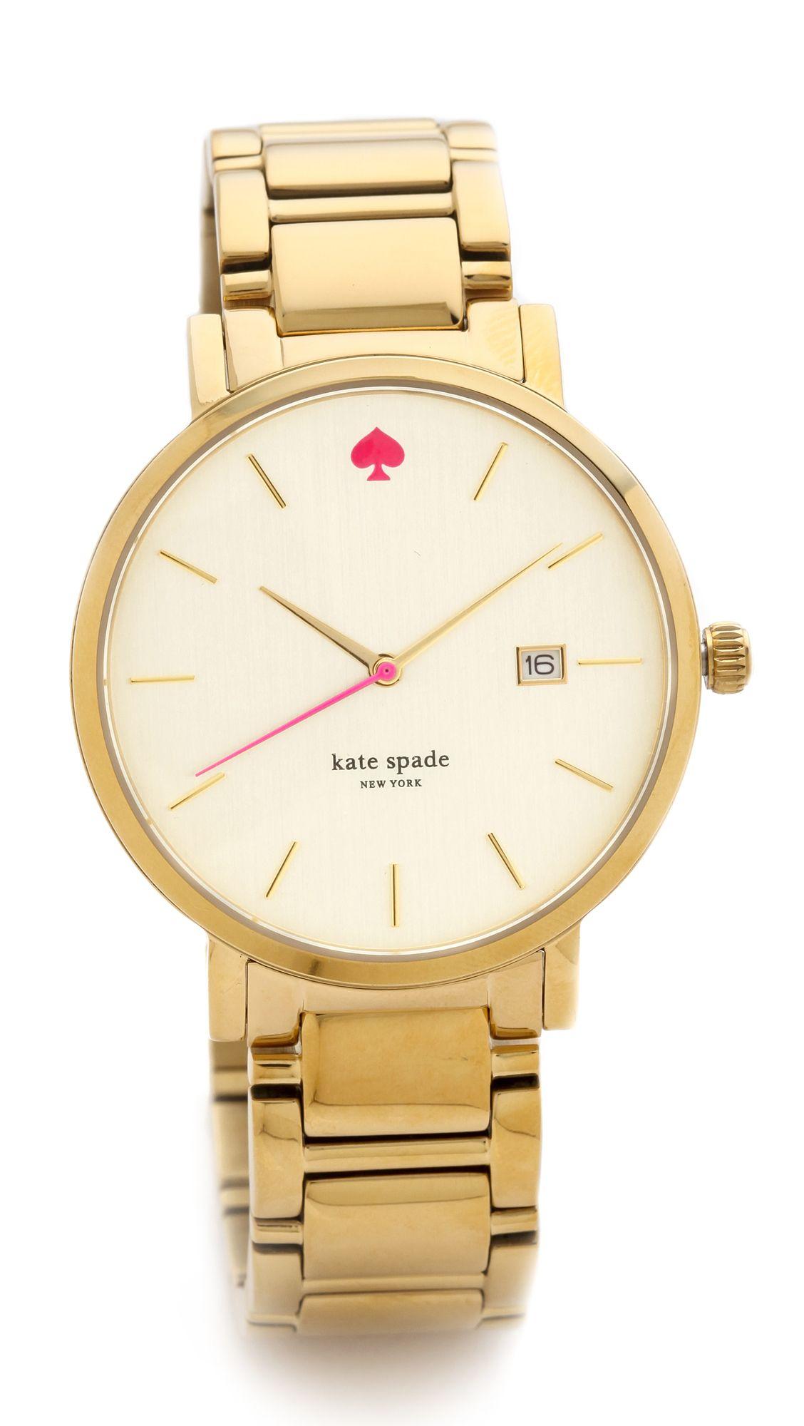 0095cadcf Women's Metallic Gramercy Grand Bracelet Watch | Kate Spade Watches ...