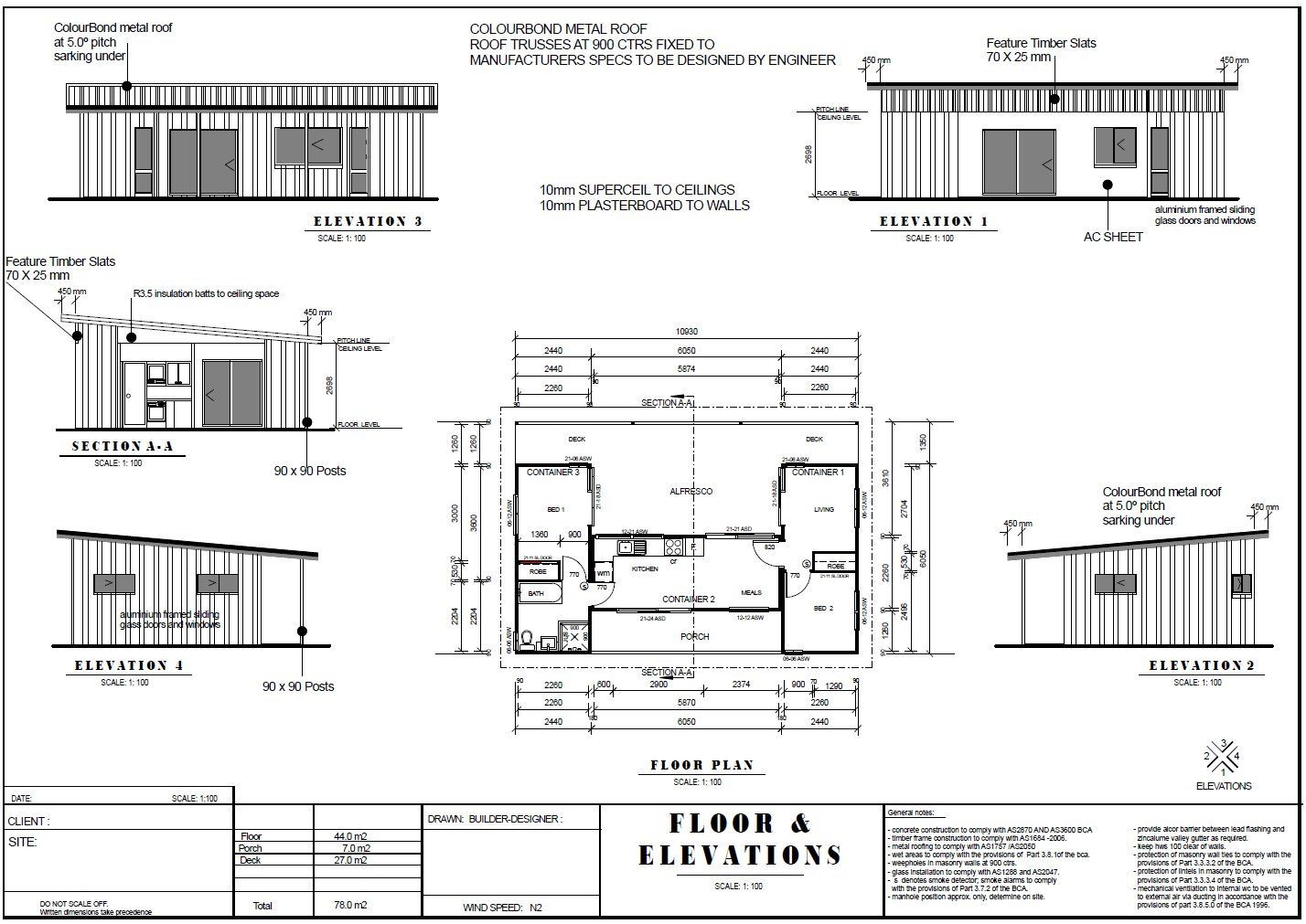 Ship Container House Plans 3 Containers Shipping Containers Etsy Shipping Container House Plans Container House Container House Plans