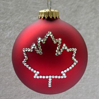 Google Image Result For Http Www Designerornaments Com Other Red Canadian Maple Leaf Ornamen Canada Christmas Canadian Christmas Christmas Decorations Canada