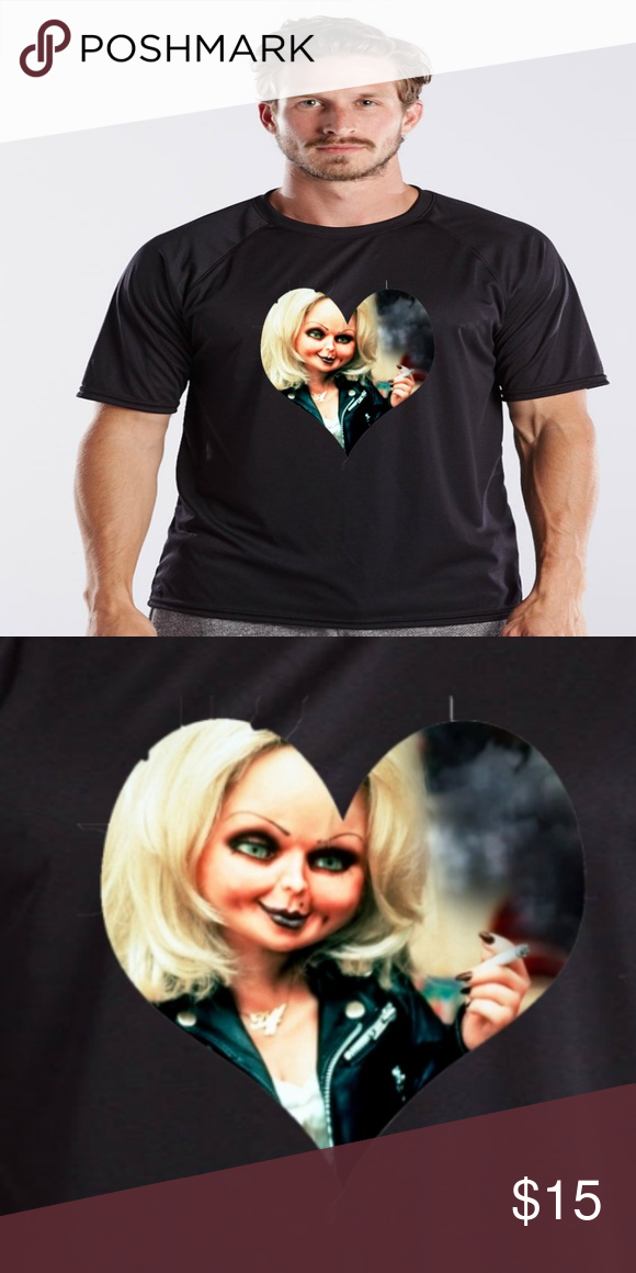 cf21be9e Child's Play Tiffany Bride Of Chucky shirt Isn't she just adorable, with  looks