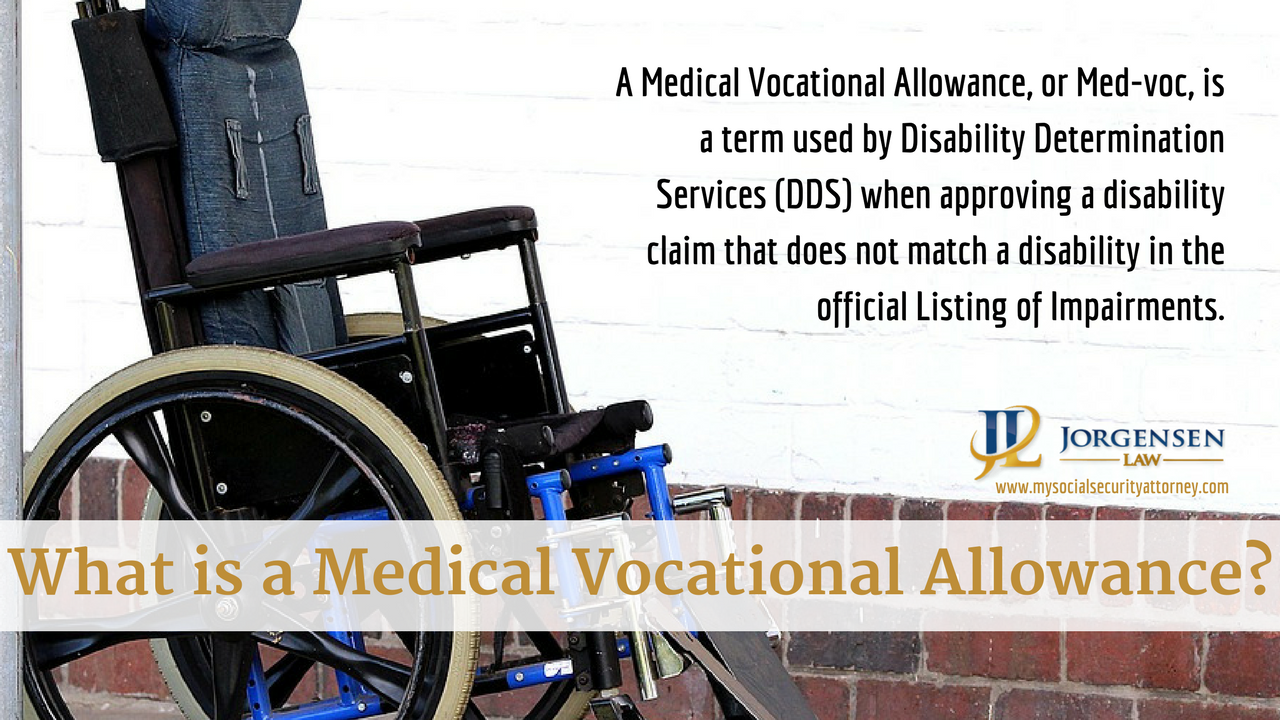 What Is A Medical Vocational Allowance Medical Social Security