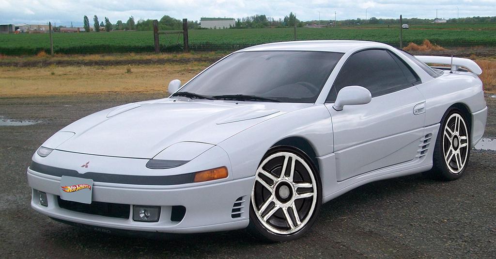 Mitsubishi 3000 GT VR4 TT Hot Wheels. Mitsubishi cars