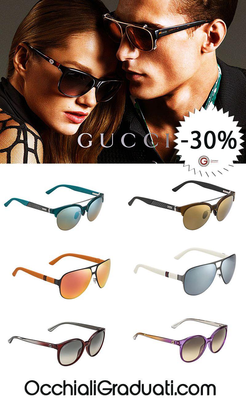 Acquista OnLine i tuoi Occhiali Collezione Gucci -30%, la Spediazione è Gratuita....  #gucci #shopping #style #ss2014 #summer #fashion #glassesonline #occhiali #estate http://bit.ly/1sGu4yZ