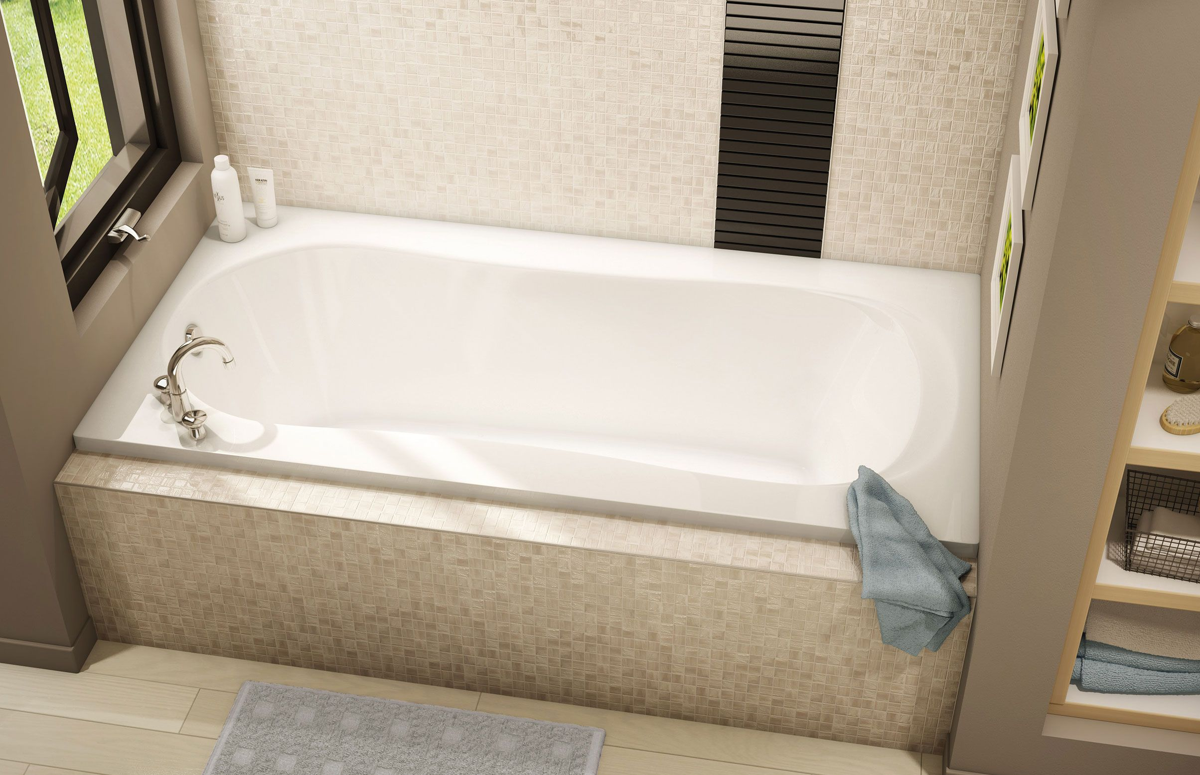 CS 32/53/553/63 NS Alcove or Drop-in bathtub - Pearl | BATHTUBS ...