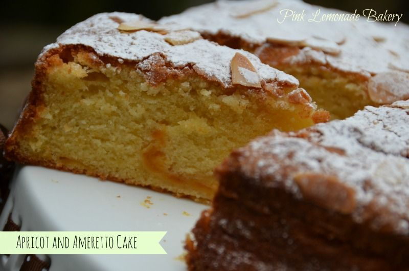 Apricot ameretto cake easy desserts let them eat cake
