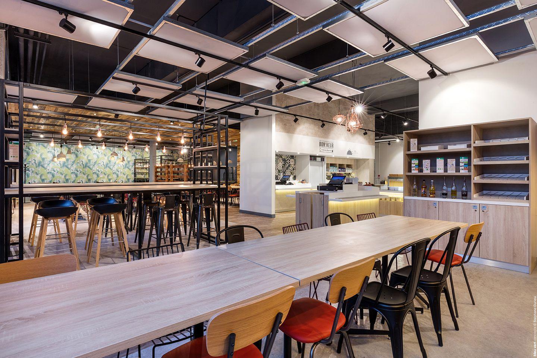 Darty Bondy Aménagement restaurant ©BleuVertConcepts ...