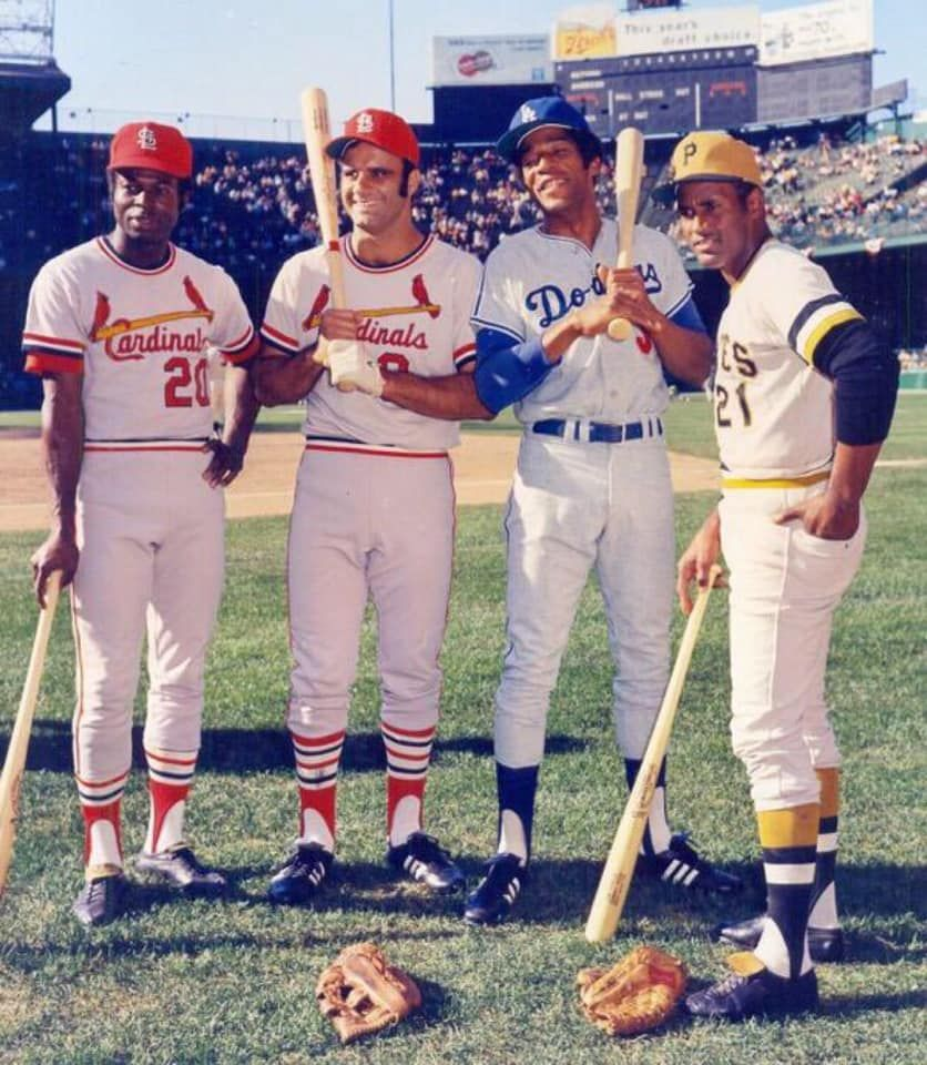 All Star Game 1971 National League All Stars In 2020 Baseball Famous Baseball Players Roberto Clemente