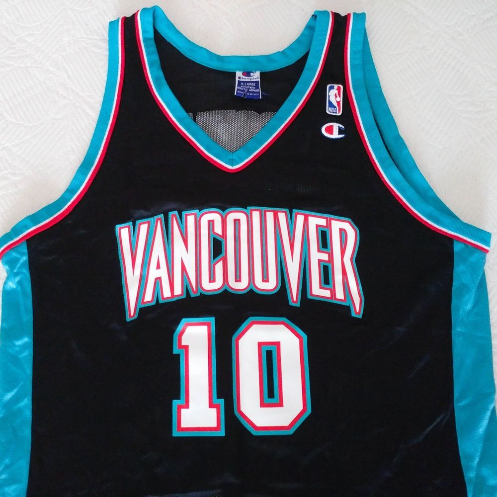 0ab5bb111 Vintage Autograph Mike Bibby  10 Vancouver Grizzlies Champion Jersey Size  48 XL  fashion  clothing  shoes  accessories  mensclothing  activewear  (ebay link)