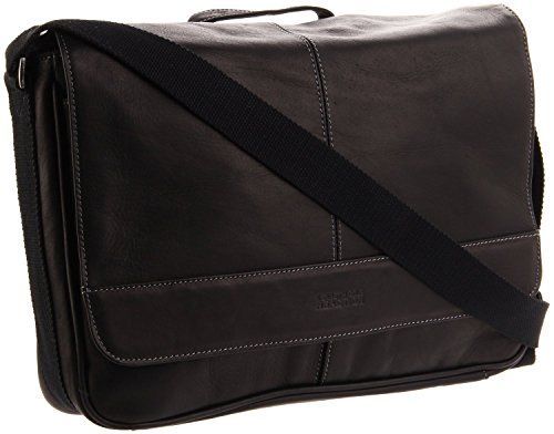 Kenneth Cole Reaction Risky Business Colombian Leather Flapover Cross Body Messenger  Bag   Read more details by clicking on the image.  MessengerBags 1c64849691ee8