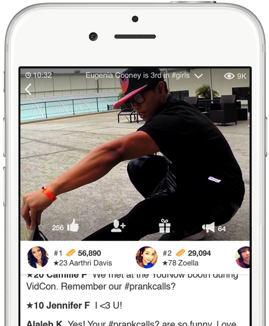 Download YouNow app Video chatting, Streaming, Prank calls