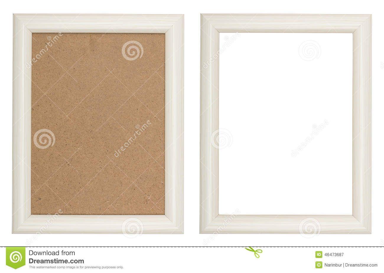 Marco blanco de madera | CUADROS - MARCOS | Pinterest | Marcos ...