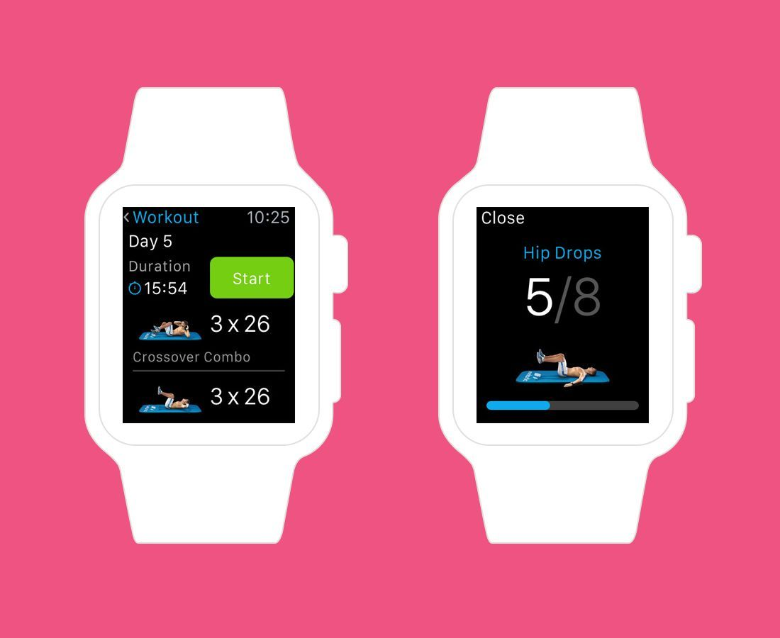 Fitness Apps That Will Turn Your Apple Watch into a Personal Trainer This app lets your create custom ab workouts.This app lets your create custom ab workouts.