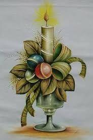 Resultado de imagen para flores para carpetas navide as en for Pinturas navidenas
