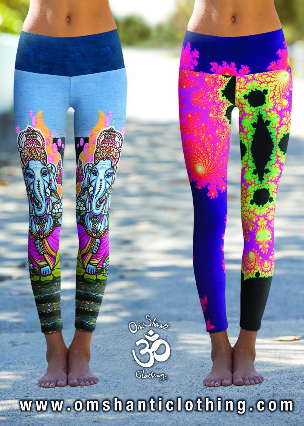e972dba836c85 Live the Joy with Om Shanti Power Pants available online at  OmShantiClothing.com #Yoga #Leggings