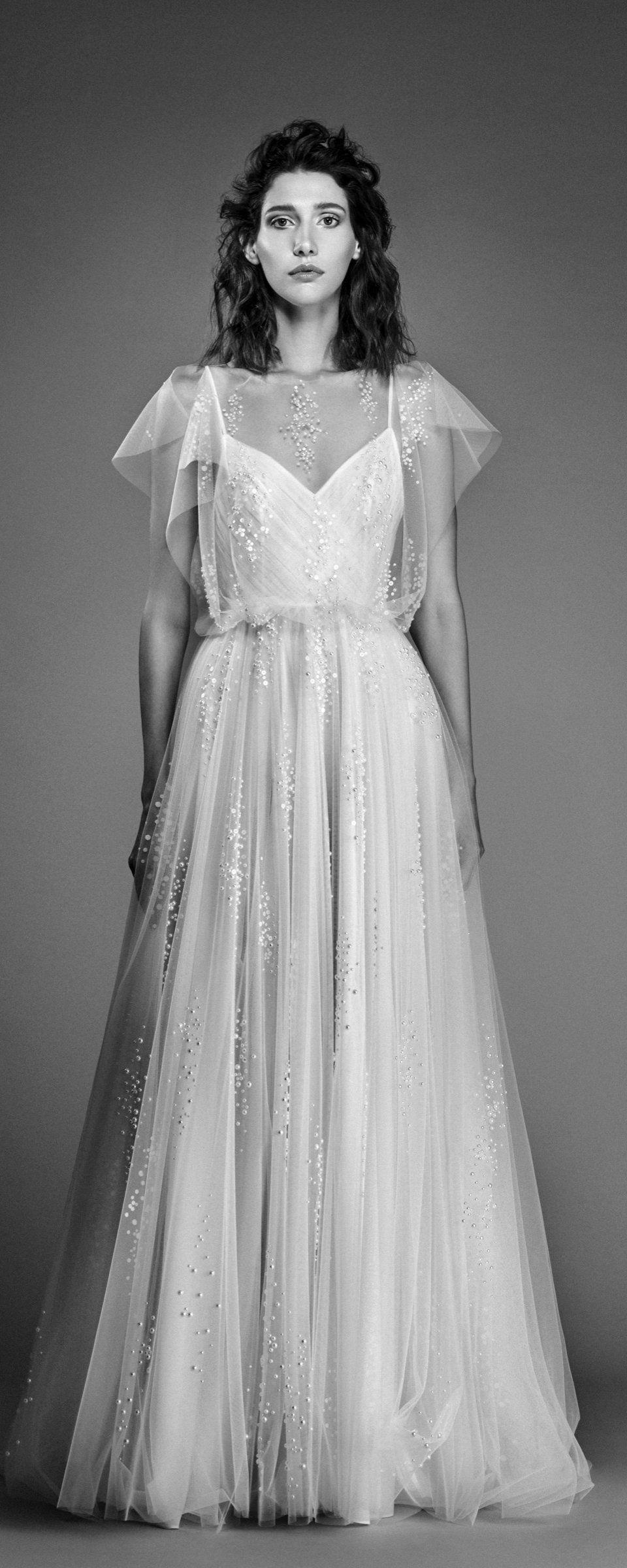 Off white short wedding dresses  Sandy Nour  collection  Bridal  Pinterest  Wedding dress