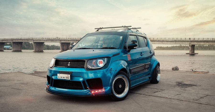 Meet The Blue Whale India S First Fully Customized Maruti Suzuki
