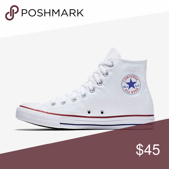 8ad817af008a Converse Chuck Taylor All Star Hi Top White Converse Chuck Taylor All Star  Hi Top White Style   M7650 Color - White Size - Men s 7.5 - Women s 9.5  Brand new ...