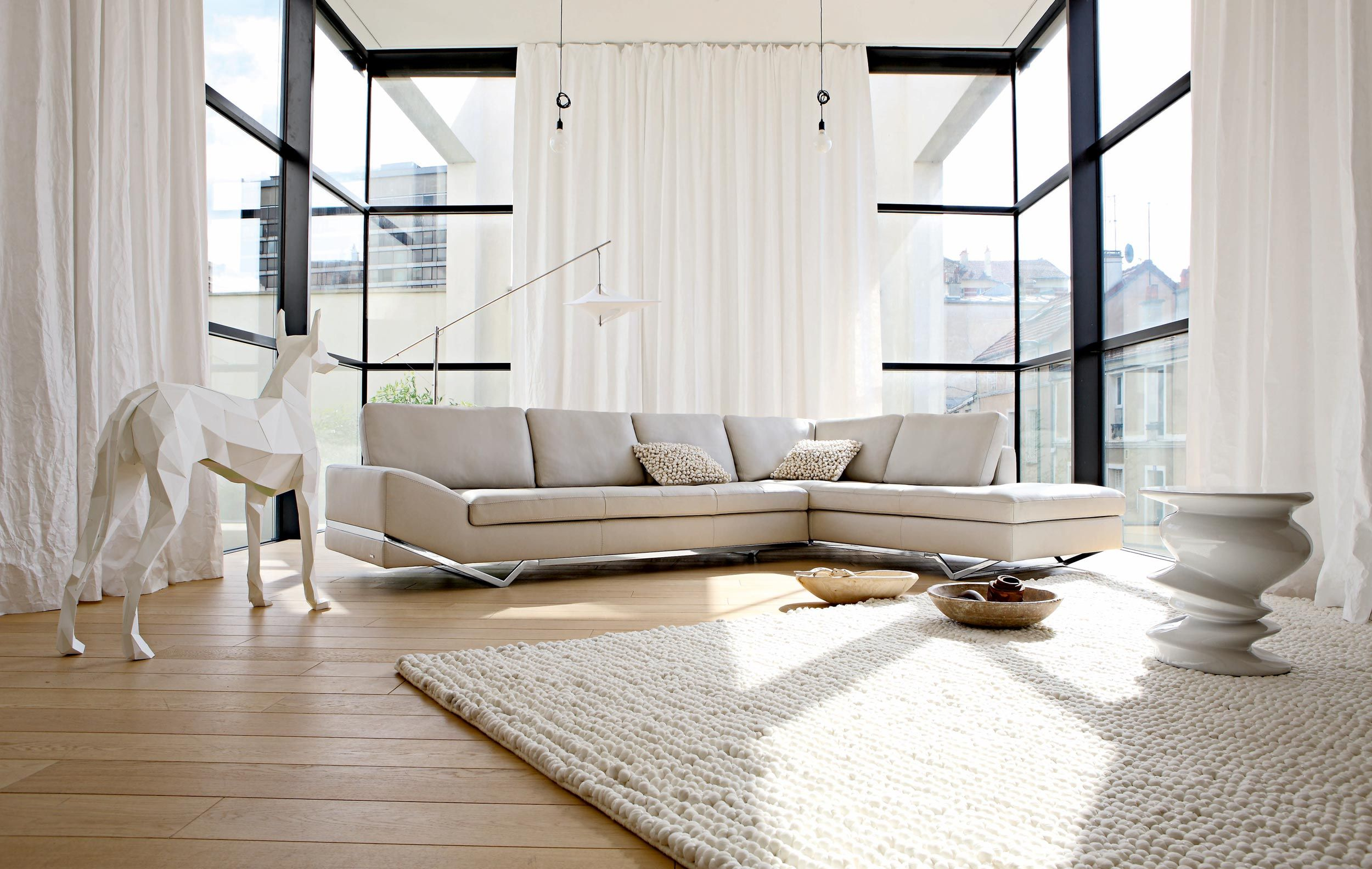 Living Room Inspiration 120 Modern Sofas By Roche Bobois: This Is The Intervalle Modular Sofa By Philippe Bouix For