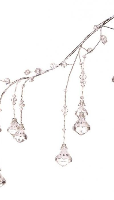 Hanging Grand Crystal Spray Holidays Christmas Tree Ornaments - christmas decors