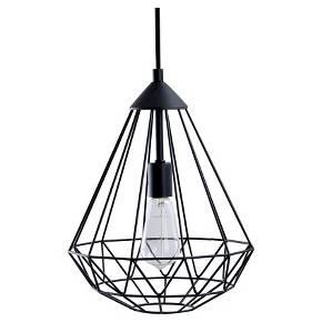 Geometric Metal Pendant Light Swag Lights Brass Room Essentials