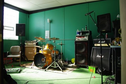 Cool Wall Home Music Rooms Band Rooms Rehearsal Room