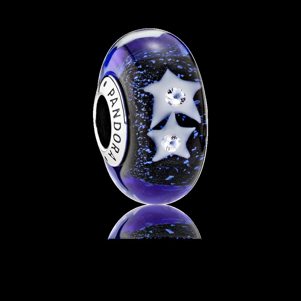 Charm Pandora Orbite Bleu Nuit | IUCN Water
