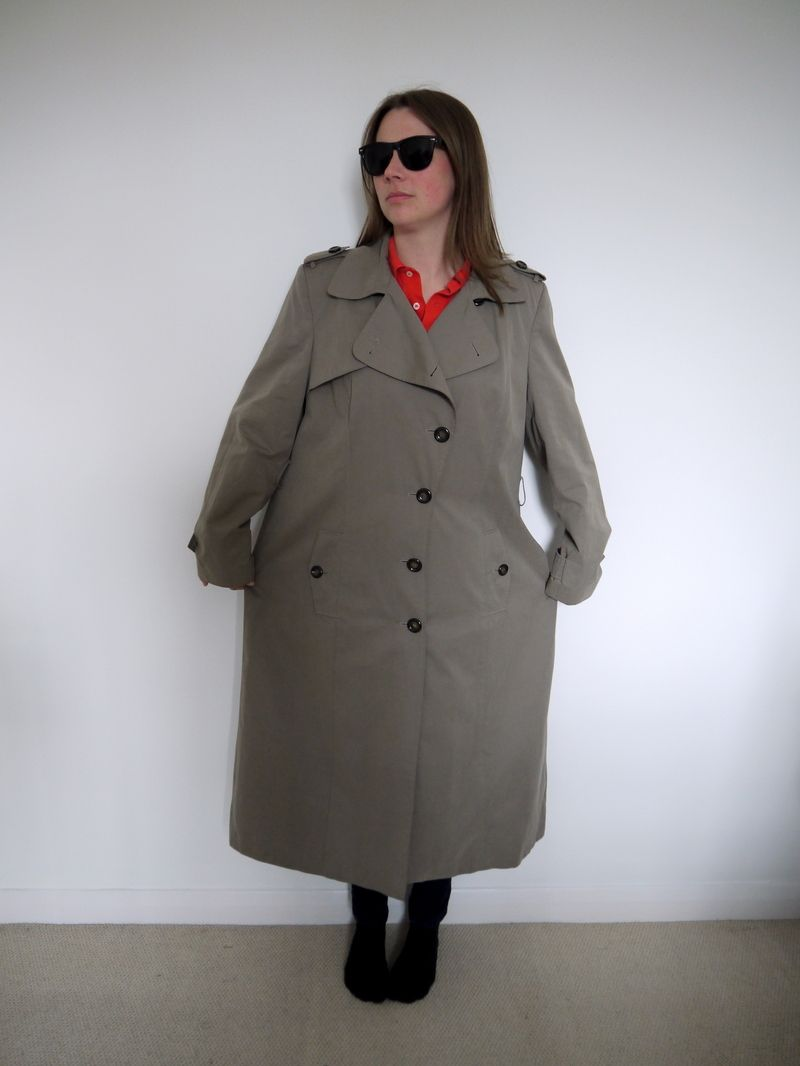You 39 ll never believe what she did with this coat sewing ideas pinterest r cup id e - Idees recyclage vetements ...