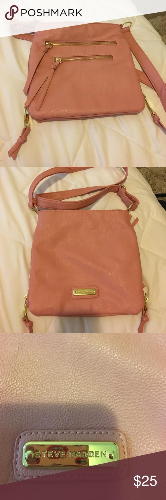 Steve Madden cross-body bag Light pink. Perfect condition, never used. Steve Madden Bags Crossbody Bags