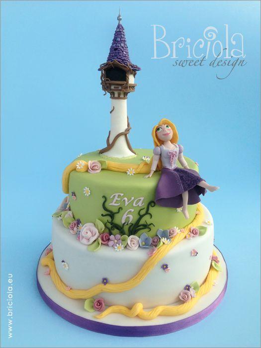 torta rapunzel rapunzel cake briciola sweet design. Black Bedroom Furniture Sets. Home Design Ideas
