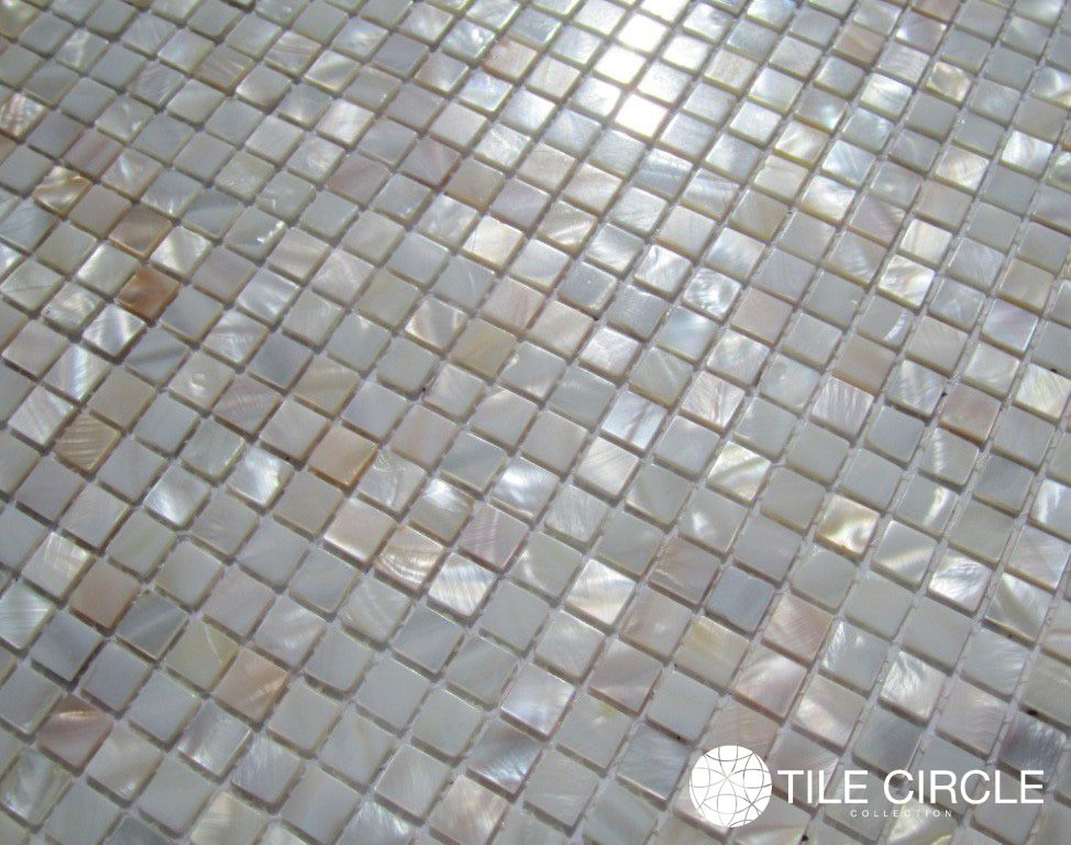 Micro Mother Of Pearl Tile By Tile Circle Suitable For Kitchen