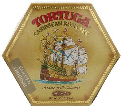 TORTUGA Caribbean Original Rum Cake With Walnuts