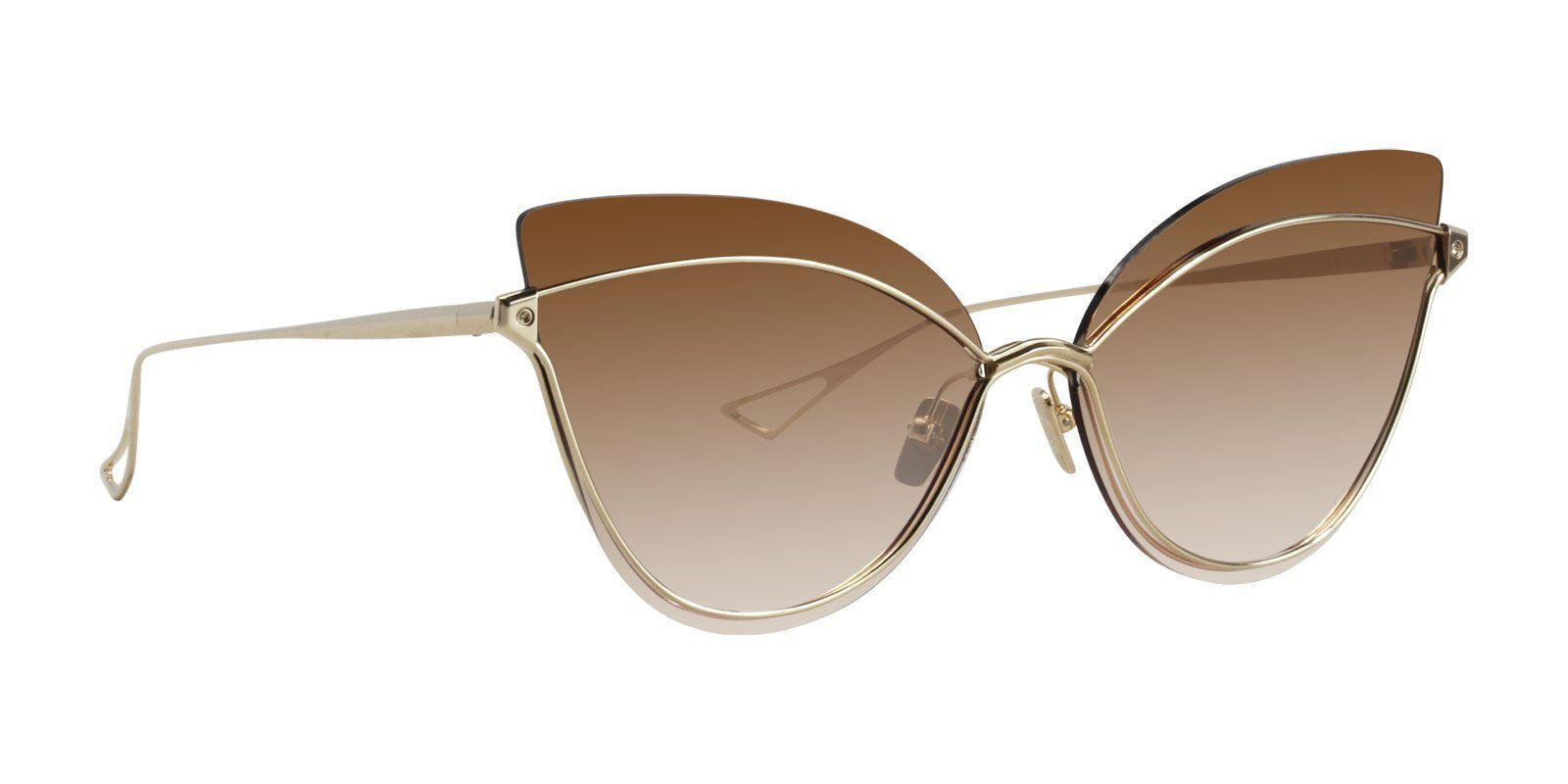 efe96348e4e Dita - Nightbird One White Gold Sunglasses