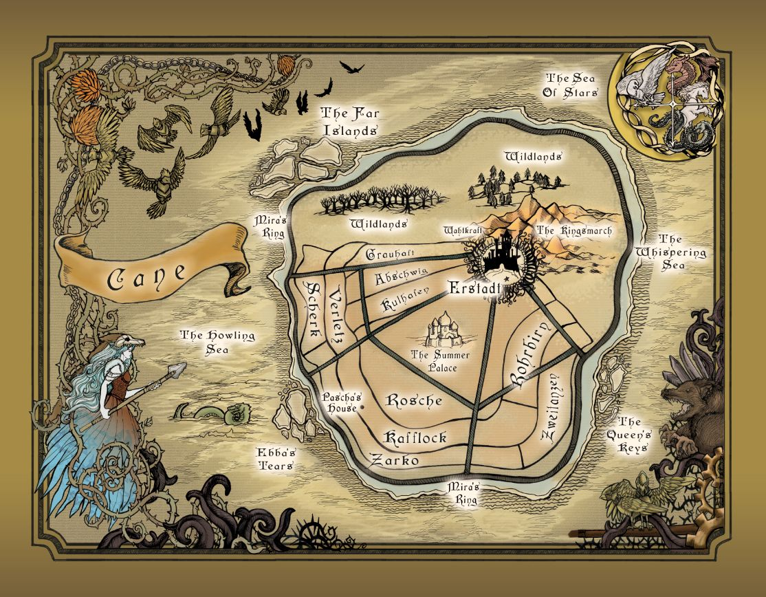 Map for cane the world in winterspell by claire legrand young map for cane the world in winterspell by claire legrand gumiabroncs Images