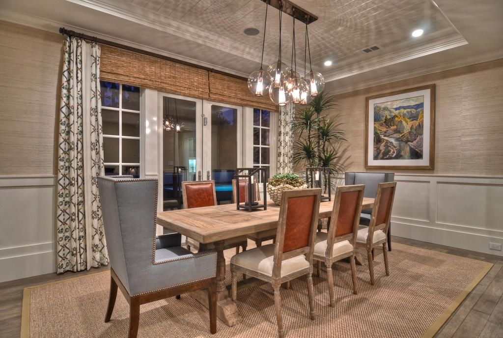 Architecture Cottage Style Dining Room