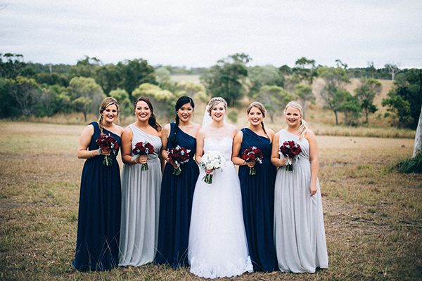 Mismatched Bridal Party Credit Alcorn Images