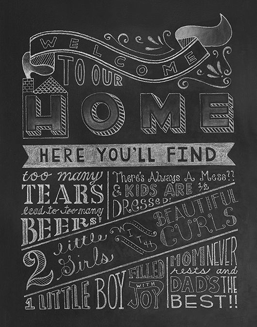 welcome home chalkboard google search chalk boards holiday