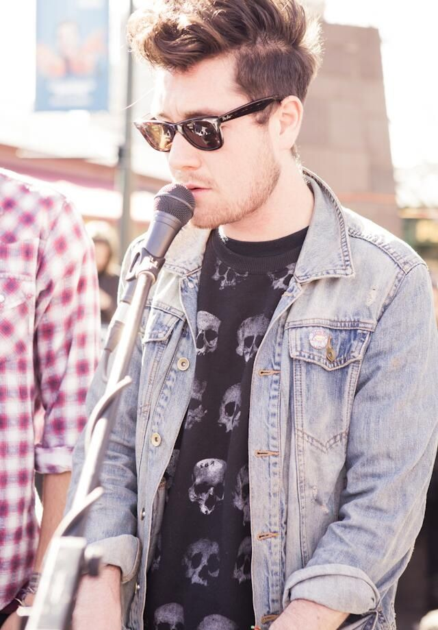 Dan Smith of Bastille, he is so handsome yet so humble and slightly awkward. Looove that!