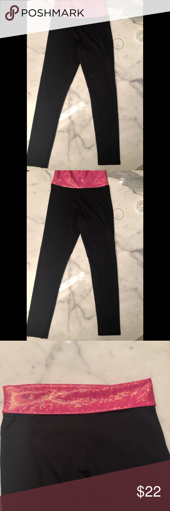silky leggings with iridescent pink waistband These leggings are so comfortable and substantial. Not too heavy. But the fun part about them is the pink iridescent waist band that you can wear up or fold down. Wear a black tight tank top put on these pants and see what happens! Of course they're great for Zumba, Pilates, yoga, hot yoga, and any kind of work out bwxxx Pants Skinny #pilatescourses silky leggings with iridescent pink waistband These leggings are so comfortable and substantial. Not #pilatescourses